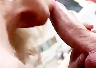 husband gives his breasty wife a peculiar anal