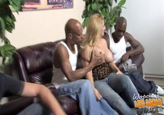 slut mamma friday used by 5 bbcs in front of son