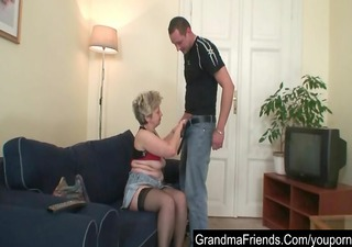husband and younger paramour sharing old wife