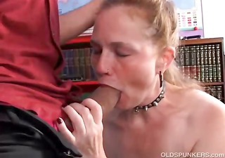 kinky older honey spicy enjoys a hard fucking
