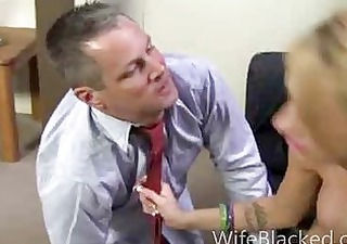 cuckold wife prefers darksome dick while shamed