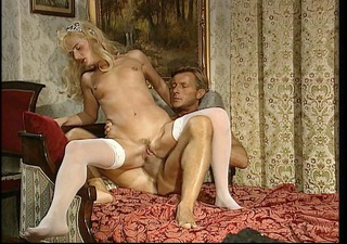 spouse and wife make love to each other (clip)