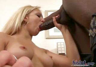 erin receives three-some big darksome penis