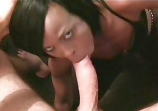 tiny african milf cocoa has a rock hard bubble
