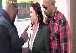 cougar sucks huge black