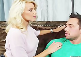 hawt blond anikka albrite arse fingered and pussy