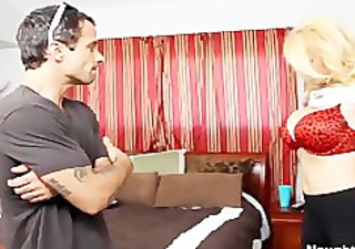 breasty mom charlee pursue seduces her sons