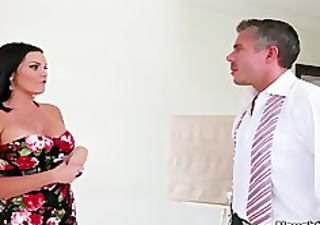 mackenzee pierce is a brunette with large tits,