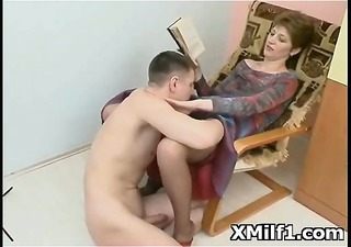 perverted cougar screwed and licked hot
