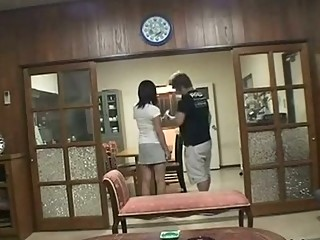 lascivious wife cheating fucked when husband in