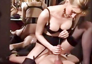 perverted mature dominatrix extreme cbt and