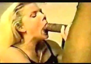 daddy tapes mom fucking large black cock with vhs
